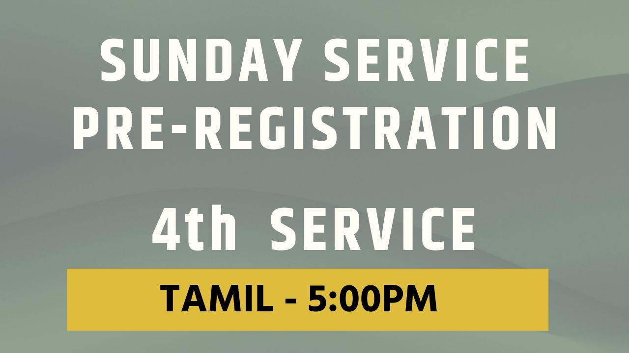 First Service Registration